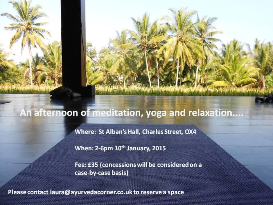 Yoga Workshop Jan 2015