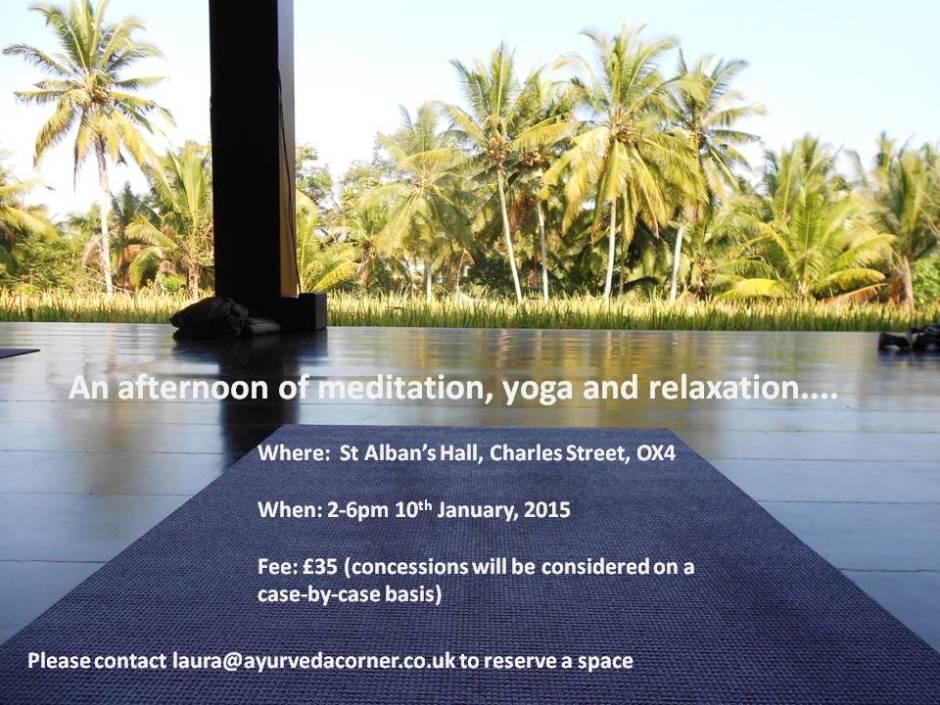 Yoga Workshop Jan 2015