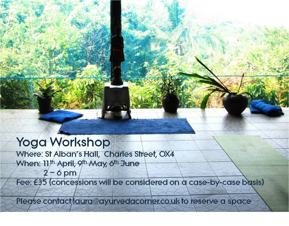 Yoga Workshop Spring 2015